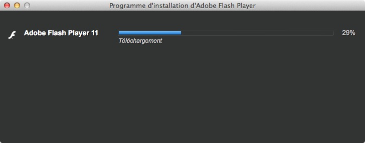 installer Flash pour Mavericks installation flash mac os x