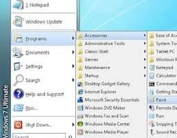 menu demarrage windows 8