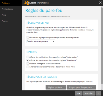 avast internet security 2014 - pare-feu
