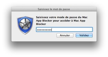 Mac App Blocker mot de passe