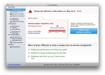 analyse systeme mavericks
