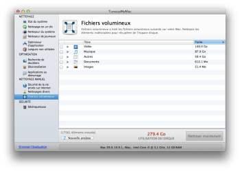 nettoyage fichiers volumineux mac