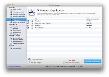 optimiseur d'application mac