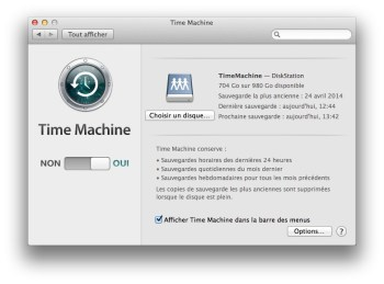 time machine fini