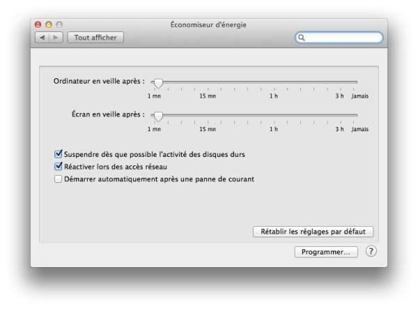 mac ecologique economiseur energie mac tutoriel