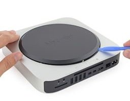 mac mini 2014 demontage teardown