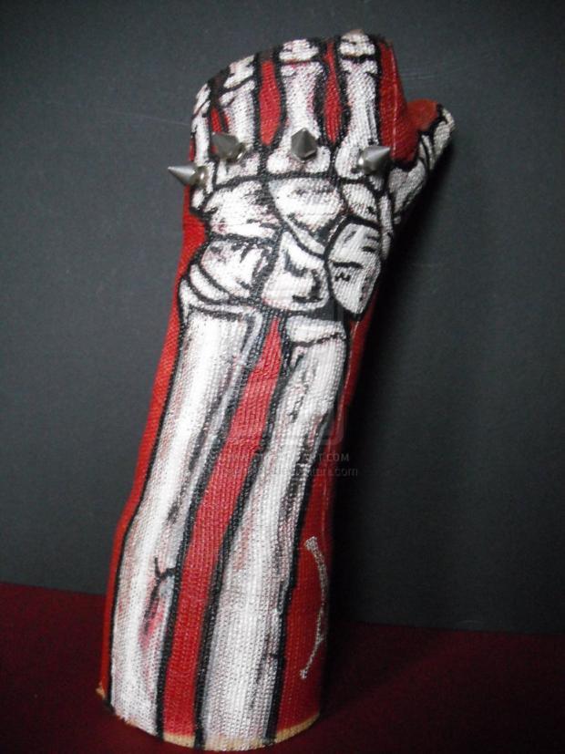 peindre un bras cassé, x-ray