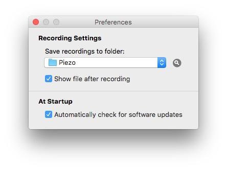 enregistrer la radio sur mac Piezzo enregistrement