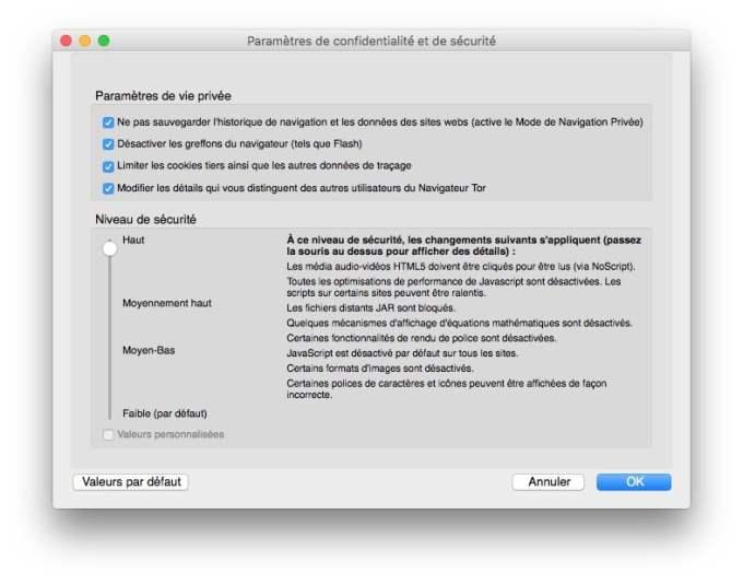 tor mac confidentialite et securite