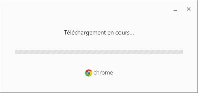 installer google chrome 64 bits en cours