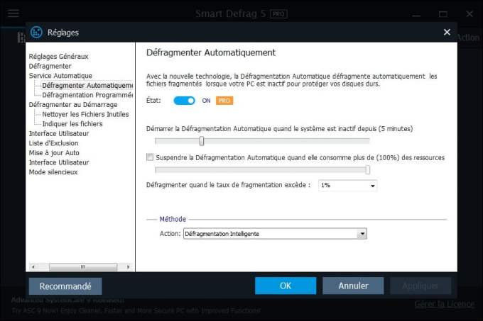 windows 10 defragmenter automatiquement