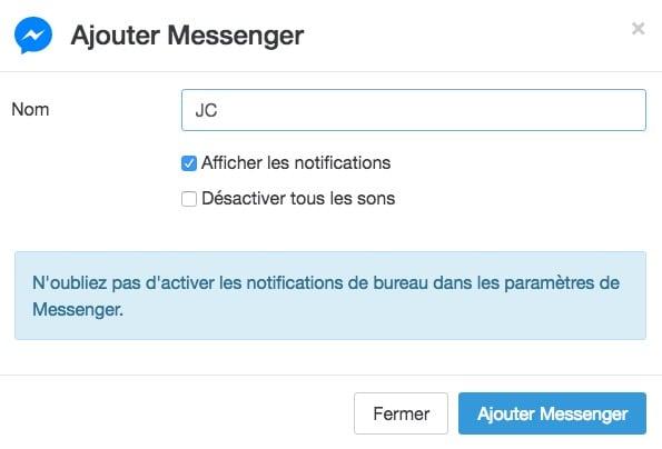 franz facebook messenger
