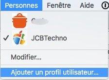 profil google chrome ajouter un utilisateur