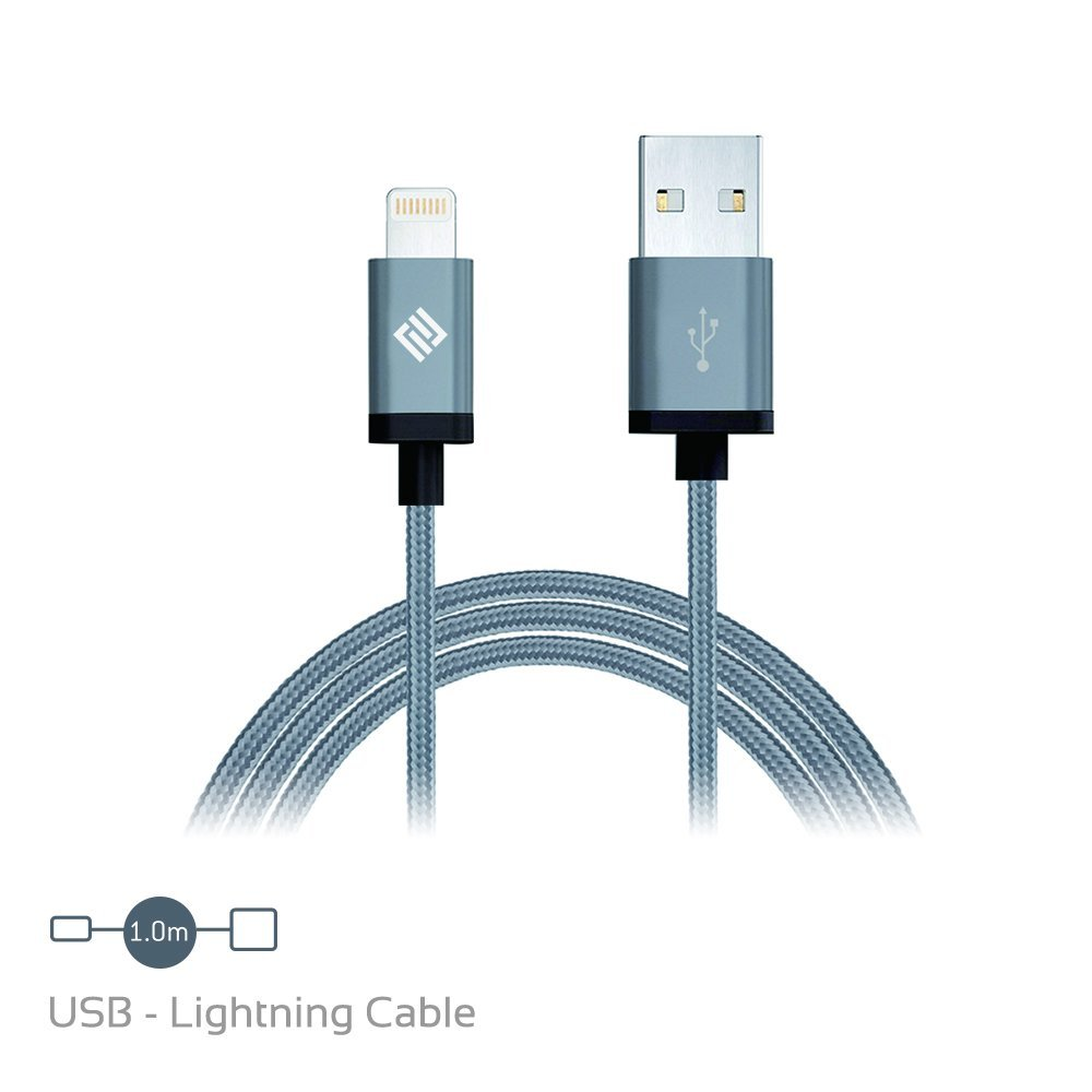 cable lightning nylon certifie apple
