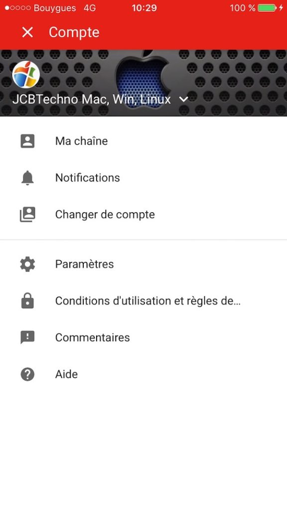 Activer le controle parental YouTube iphone