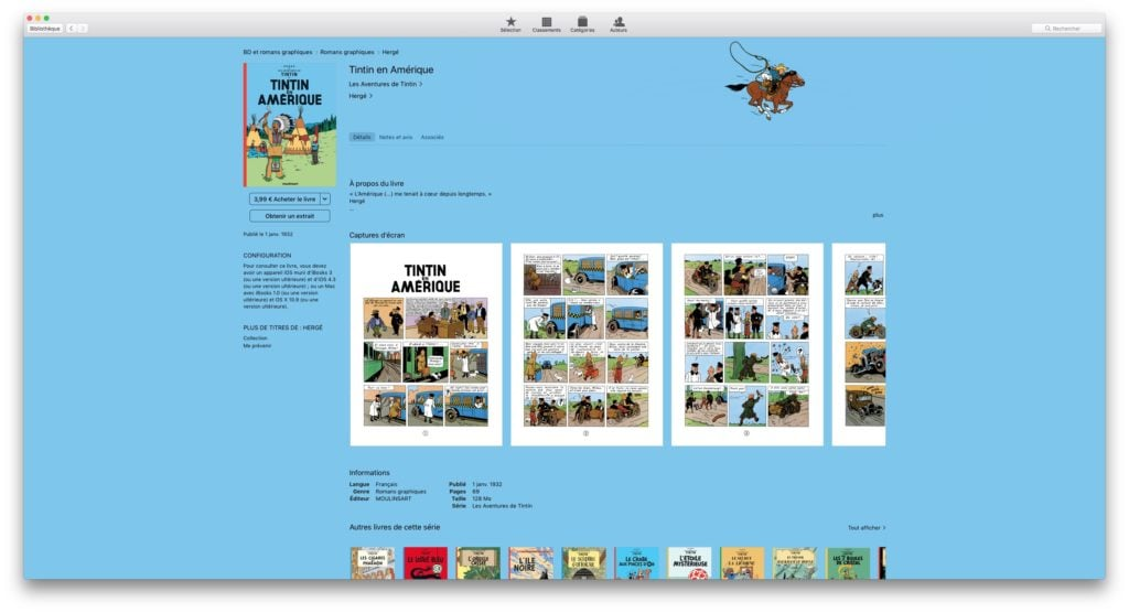 Tintin ebook mac iphone ipad