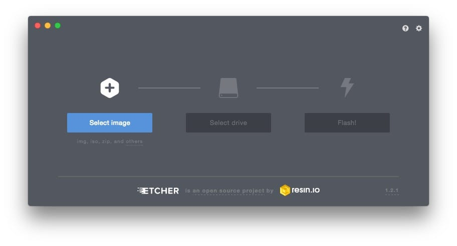 Creer une carte SD bootable de Linux Etcher