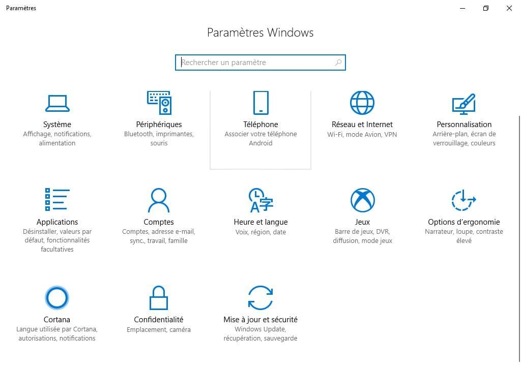 Demarrer Windows 10 en mode sans echec Mise a jour et securite