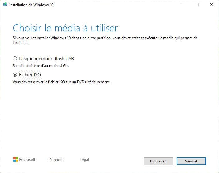 Windows 10 Mai 2019 ISO