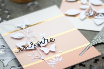 Patterned Paper and Die Cuts
