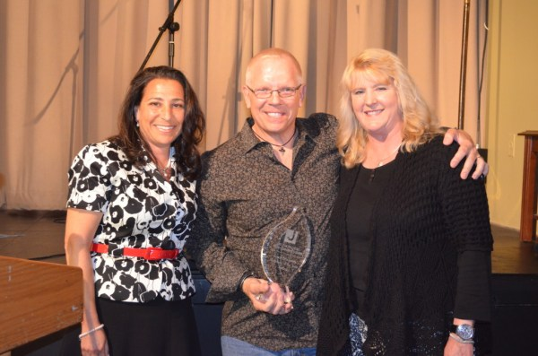 Cliff and Janine Haines of Ventnor were presented with the Susan Braunstein Volunteer of the Year Award by Board Member Sam Wolf.
