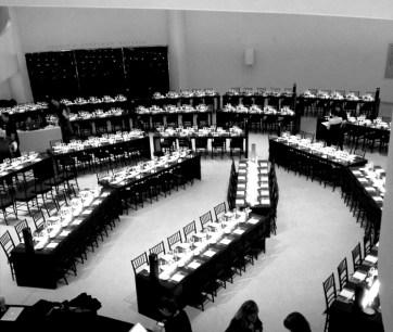 Guggenheim international Gala. Designed and Produced by BureauBetak. Built by JCDP