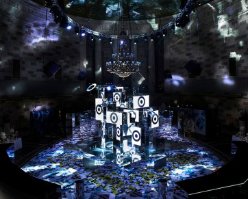 Peter Pilotto for Target, photograph furnished by BureauBetak, event designers and producers