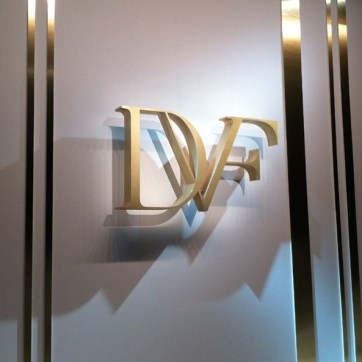 DVF NY Fashion Week SS14. Designed and Produced by BureauBetak. Built by JCDP