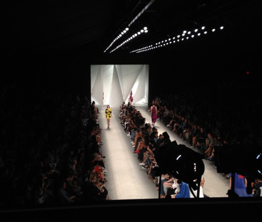 Lacoste NY Fashion Week SS15. Designed and Produced by BureauBetak. Built by JCDP