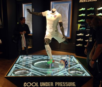 Nike. Automated Turbines. Built in collaboration with Tangram Int