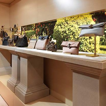 Bulgari Showroom. Designed and Produced by Lot71. Built and Installed by JCDP