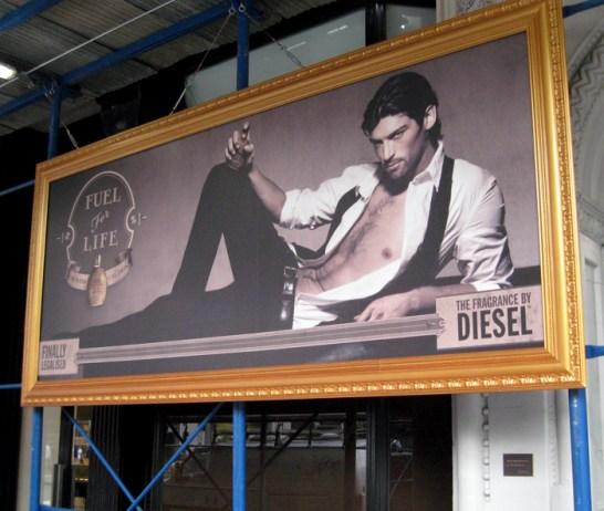 Diesel Gold frames. Designed by Diesel. Built by JCDP