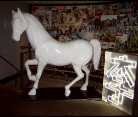 Designed by Diesel. Hand sculpted horse by JCDP