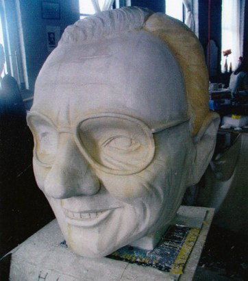 head carved
