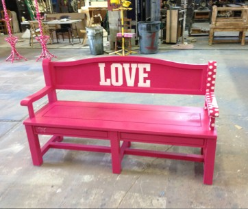 Victoria's Secret PINK bench