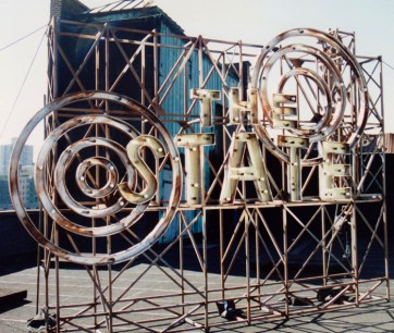 The State sign