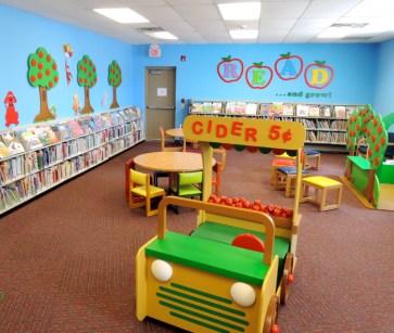 Randolph Library. Built by JCDP, designed by Janice Davis Design