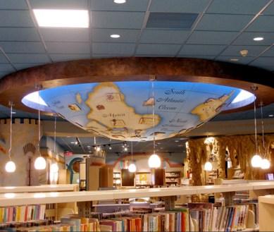 White Plains Library. Built by JCDP. Designed by Janice Davis Design