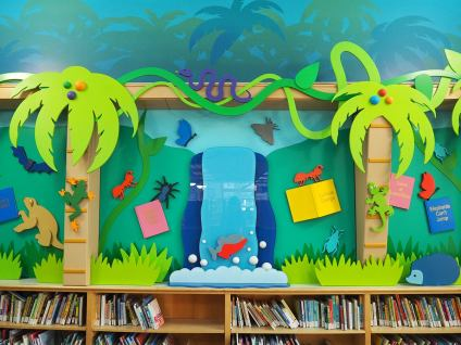 Hewlett Woodmere Library. Design by Janice Davis Design