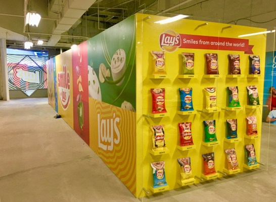 Lays Chips Smile Event at Times Square with The Marketing Arm