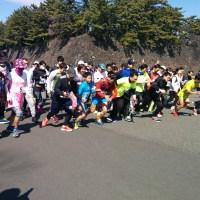 1周・・2周・・「皇居マラソン」スタート!!