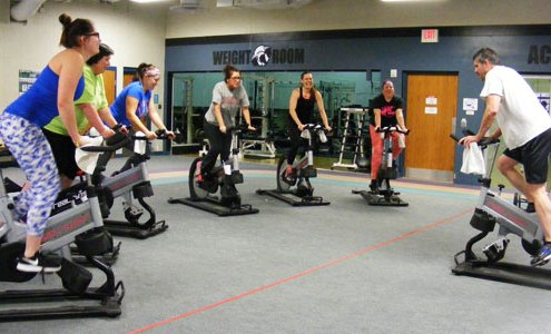Spinning Fitness Class