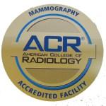 Mamography Accreditation Seal