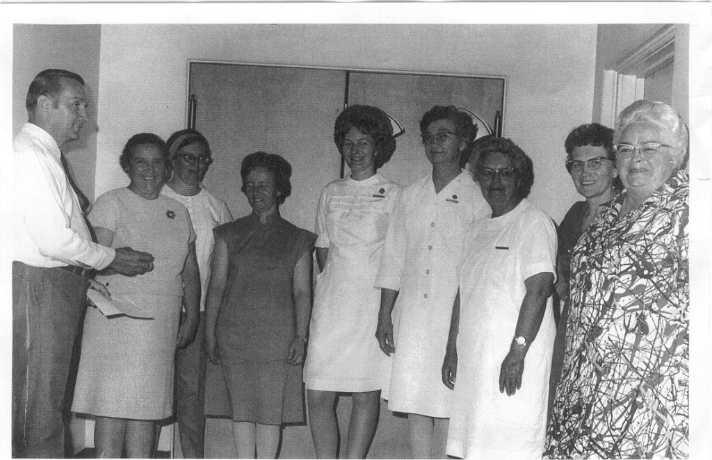 Nurses in the 60s