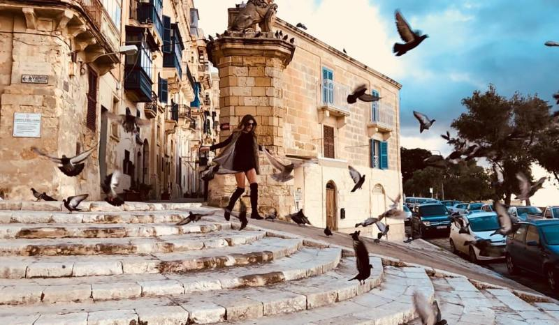 Last weekends photoshoot with linguranova at Valletta  ShotOniPhone JCiapparahellip