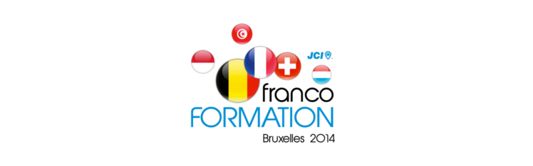 JCI Bruxelles Francoformation 2014 Logo Banner