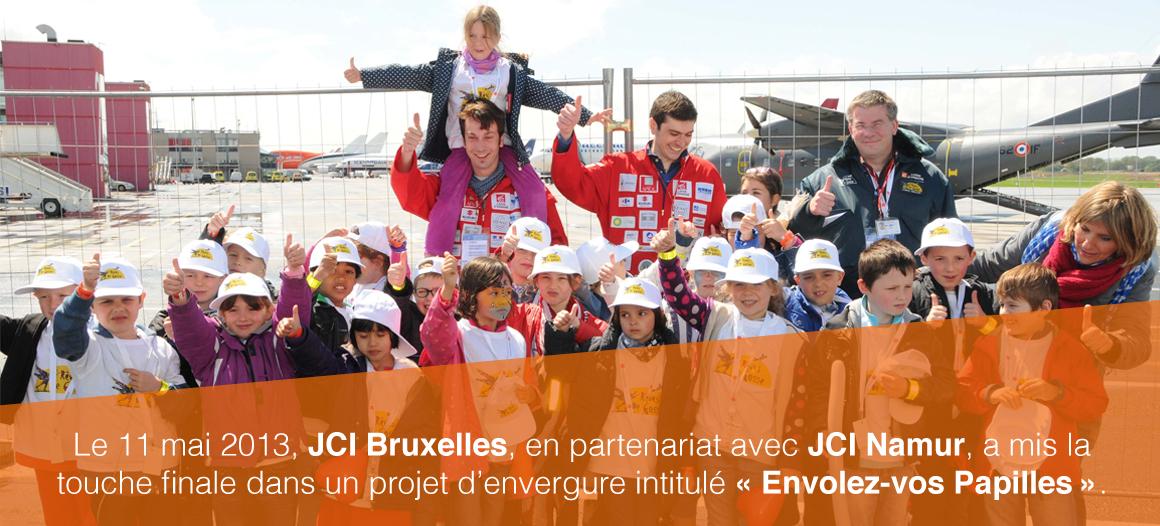 JCI Bruxelles - Envolez-vos papilles & Rêves de gosses