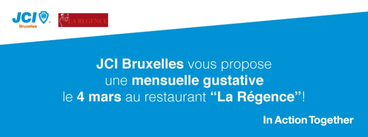 JCI Bruxelles Mensuelle Mars 2014 Regence