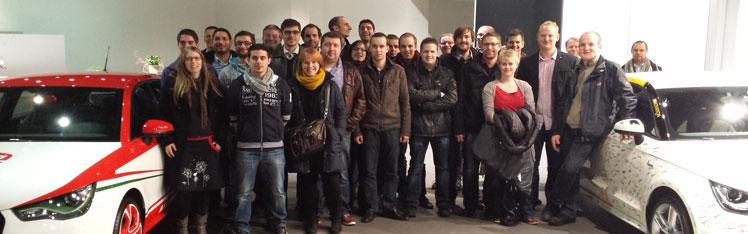 JCI Bruxelles Visite Usine Audi