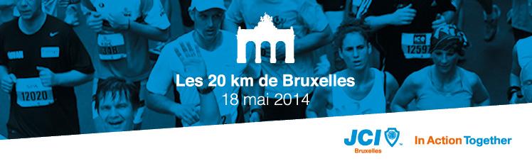 JCI Bruxelles 20 km Bruxelles Banniere